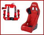 Seats, Harness Bars & Seat Belts