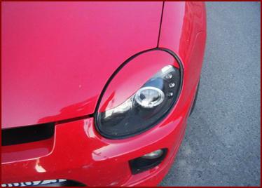 SDK Dodge Neon / SRT-4 FLEX Fiber Glass Eyelids S-Style * ONE SIDE *