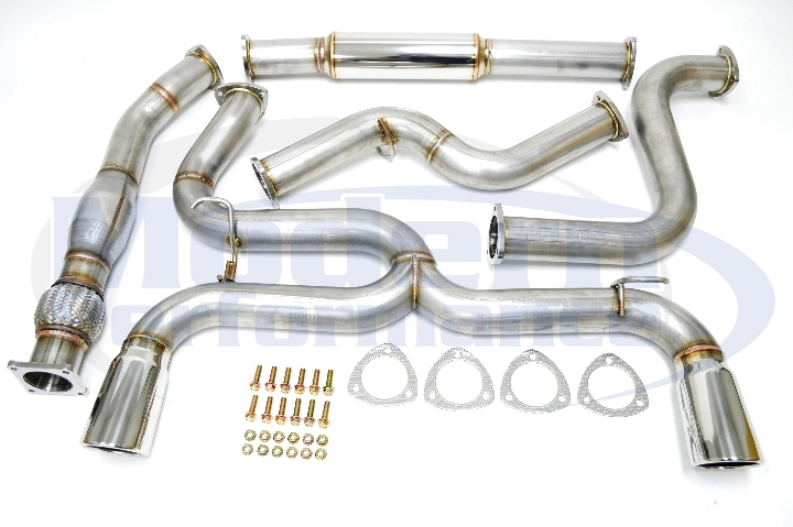 MPx Dual Exit Exhaust System w/ Downpipe, 03-05 Neon SRT-4