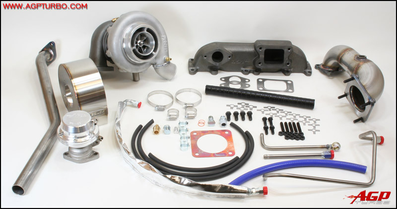 SRT-4 Turbocharger Upgrade Kit - Borg Warner S256-RS .63AR