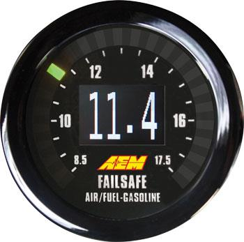 AEM Universal Wideband Failsafe Gauge & Boost-In-One Gauge