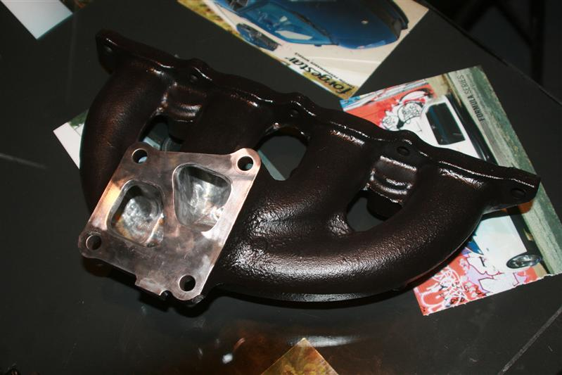 Evo Ported Exhaust Manifold
