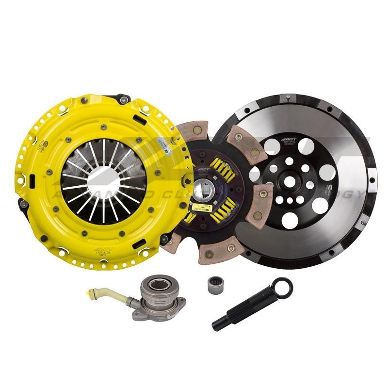 Caliber SRT-4 ACT HD-Race Sprung 6 Pad Clutch Kit