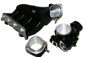 Ported Intake Manifold + 58/55mm Throttle Body Package