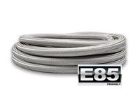-12AN Stainles Steel Braided Hose, E85 Safe