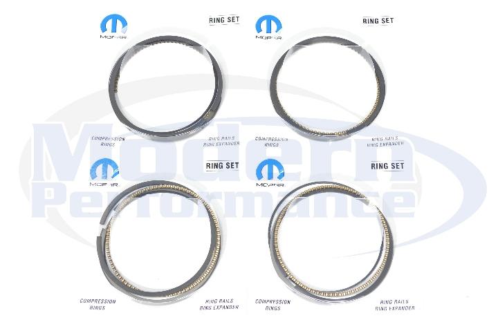 Mopar OEM Piston Ring Set (for use w/ OEM Pistons), 03-05 Neon SRT-4 / 01-10 PT Cruiser