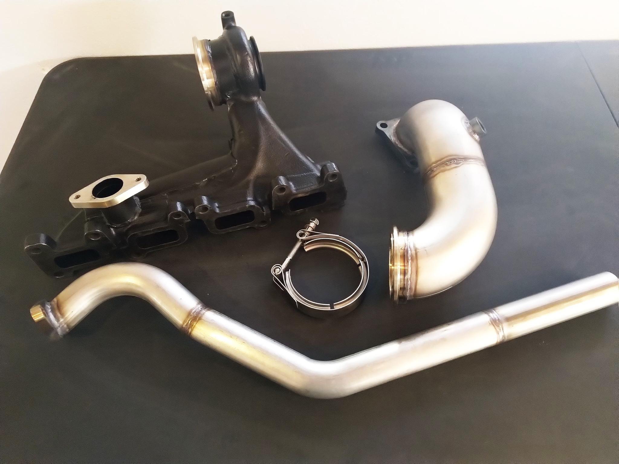 External WGA Vband Exhaust Manifold Kit