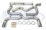 MPx Dual Exit Exhaust System, 03-05 Neon SRT-4