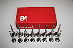 Brian Crower Intake / Exhaust Stainless Steel Valves Oversized +1MM