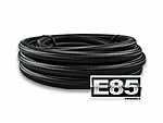 -6AN Black Nylon Braided Hose, E85 Safe