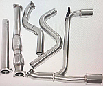 "SRT-4 3"" EM CATBACK SYSTEM AND DOWNPIPE"