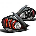 Neon/SRT-4 03-05 DEPO Black Led Taillights