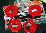 Energy Suspension Red Motor Mount Inserts