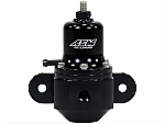 AEM High Capacity Universal Black Adjustable Fuel Pressure Regulator