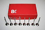 Brian Crower Exhaust Stainless Steel Valves
