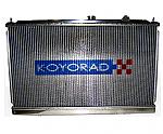 Koyo 00-05 Dodge Neon SRT-4 V-Core Manual Aluminum Radiator