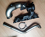 EVO8/9/S3 External WGA Vband Exhaust Manifold