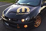 SRT Mopar Hood Logo