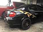 SRT Rear Quarter Panel Logo